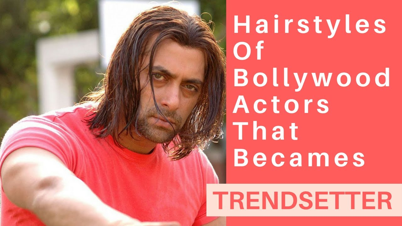 hairstyles of bollywood actors that became trendsetters - youtube