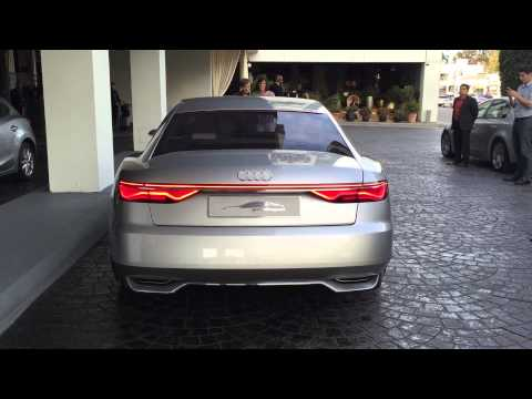 Audi Prologue Concept Design Features, Sound and Walk-Around