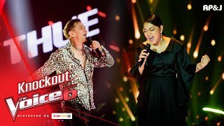 Knock Out : ทุย - Da Ya Think I'm Sexy? VS ฝ้าย - Stone Cold - The Voice Thailand 6 - 7 Jan 2018