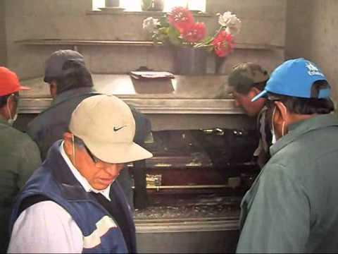 Exhumación General Miguel Iglesias