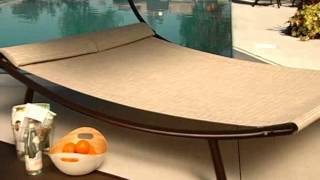 Del Rey Double Chaise Lounge with Canopy - Product Review Video
