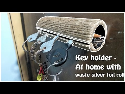 How to make Key Holder very easy with waste | life hacks | Diy Crafts