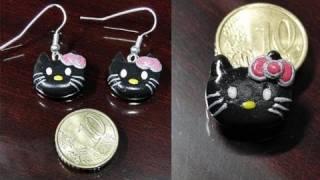 Tutorial 12 • hello kitty in fimo e cernit - so erstellen Sie eine polymer-Ton hello kitty mac