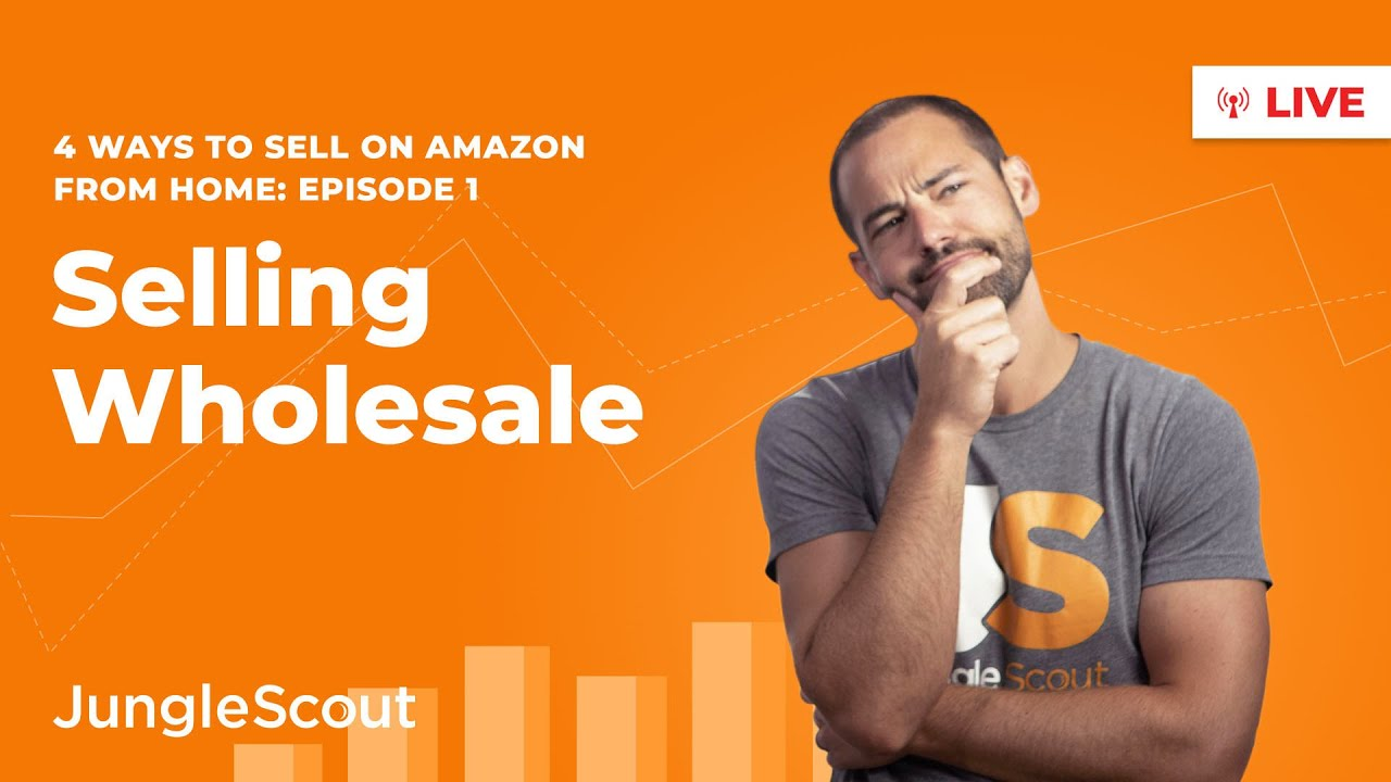 How to Sell Wholesale on Amazon | Ways to Sell from Home (2020) I Episode 1