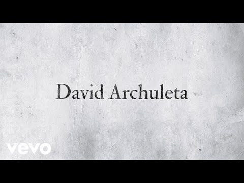 David Archuleta - Invincible (Official Lyric Video)