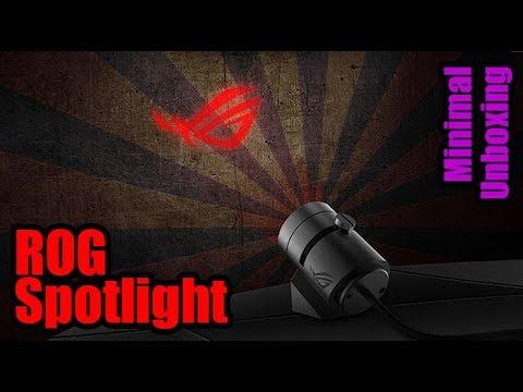 Asus ROG RGB Spotlight Minimal Unboxing - Droga Digital