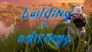HOW TO GET BETTER AT BUILDING AND EDITING IN FORTNITE!