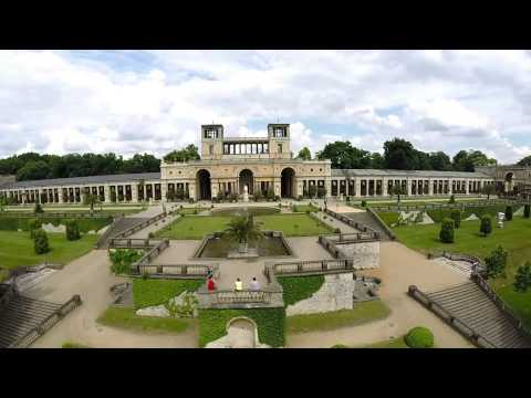 Sanssouci Palace (Schloss) and Park Aerial View Potsdam - FPV Discovery Pro Octocopter X8