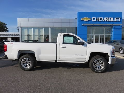 2017 silverado lt 4wd regular cab summit white youtube. Black Bedroom Furniture Sets. Home Design Ideas