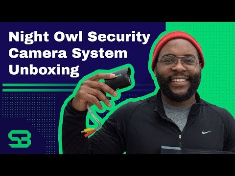 Night Owl Security Camera System Unboxing