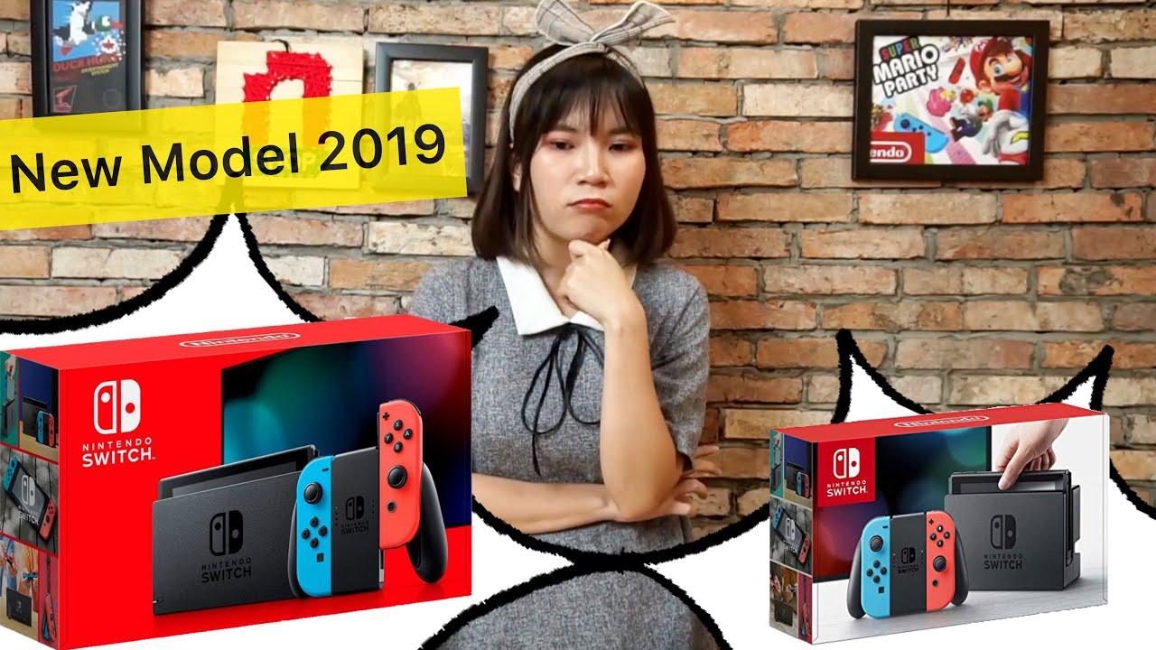 Unbox máy Nintendo Switch phiên bản mới 2019 tại Việt Nam: nShop mở hộp và tổng hợp hỏi đáp A-Z