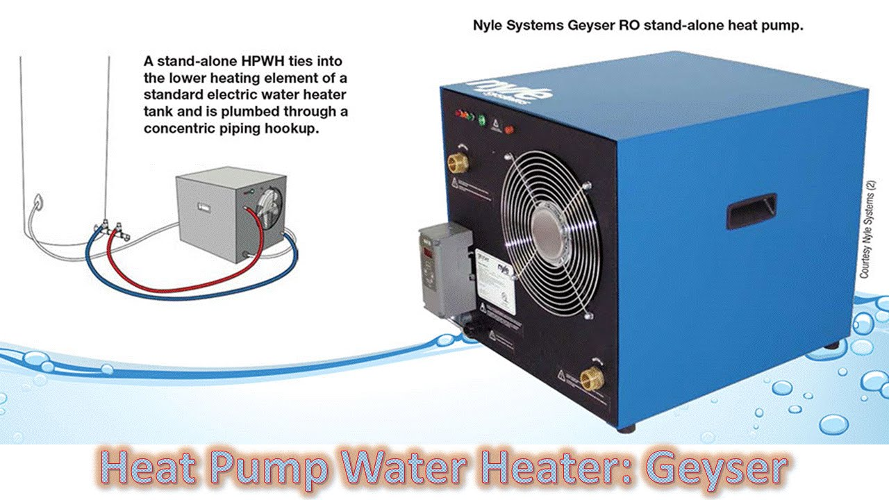 Heat Pump Water Heater Geyser YouTube