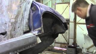 [S.A.A.G] Ремонт, раскатка арки ВАЗ 2110