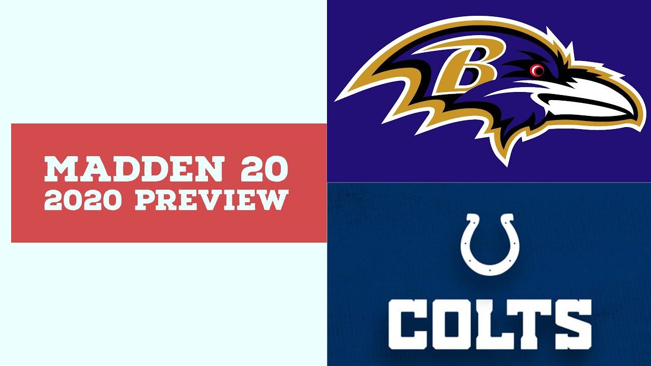 2020 Week 9 Preview - Baltimore Ravens vs Indianapolis Colts - Simulation Nation