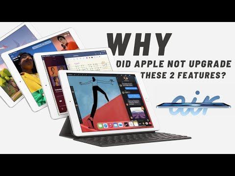 New Apple iPad 8 — WHY did Apple NOT upgrade these 2 features