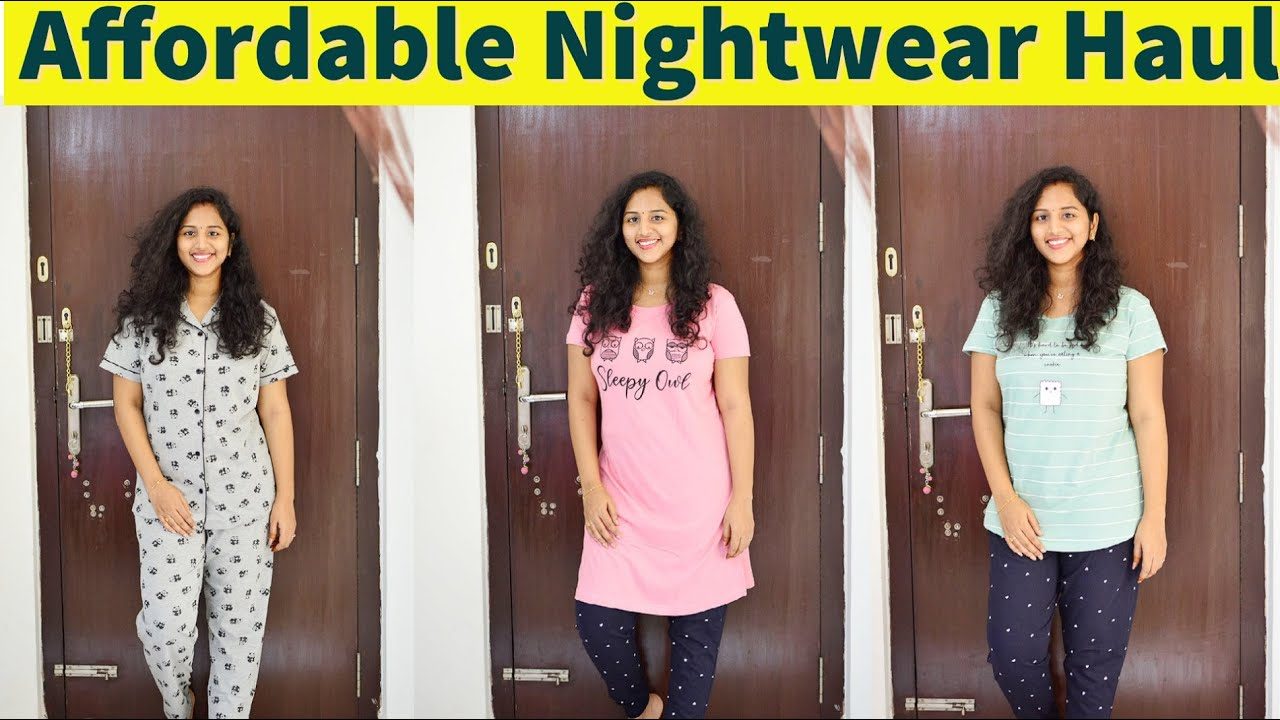 Night wear haul   Affordable night suits/ Half nighties   Easy returns/ COD   Anu mana telugu ammai