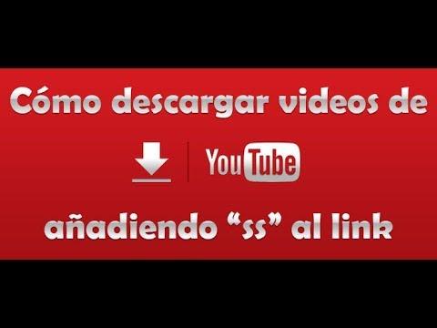 """Cómo descargar videos de youtube solo añadiendo """"ss"""" al link"""