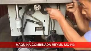 Instrucciones de armado: Máquina Combinada 6 funciones REYMU MQ443