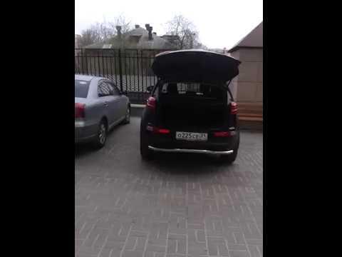 как снять обшивку двери багажника киа спортейдж 3
