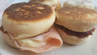 PAN SIN HORNO MUFFIN INGLES mc donalds muffin  #mcmuffin