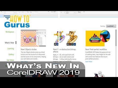 What's New in Corel 2019 - CorelDRAW 2019 New Features, Objects Docker,