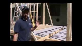 Carpentry, Wall Framing - How To Build Raking Walls And Work Out Wall Heights.