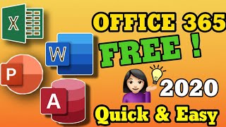 How To Download MS Office 365 Full Version 2020 (EASY TO SET UP)