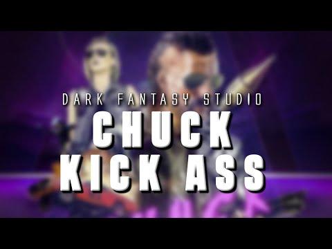 Dark fantasy studio- Chuck Kick Ass (epic retro action style music)