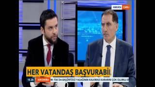 Kamu Başdenetçisi Şeref Malkoç, TVNET'in Canlı Yayın Konuğu Oldu