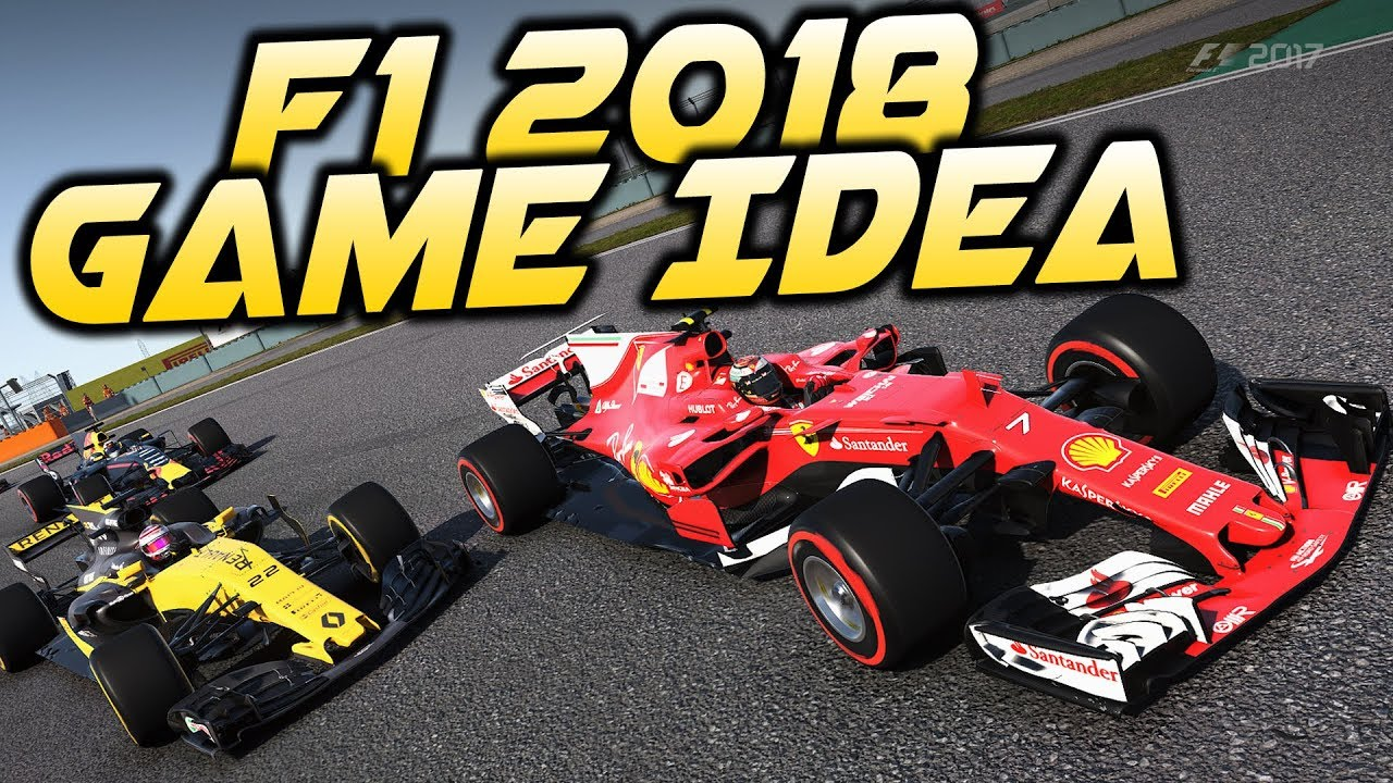 F1 2018 Game Career Idea & My Big Issue with F1 2017 on PC - YouTube