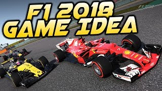 F1 2018 Game Career Idea & My Big Issue with F1 2017 on PC