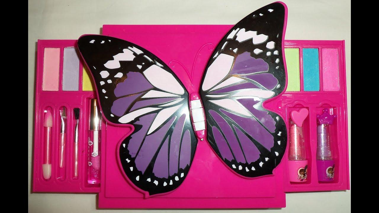 Косметика с бабочкой