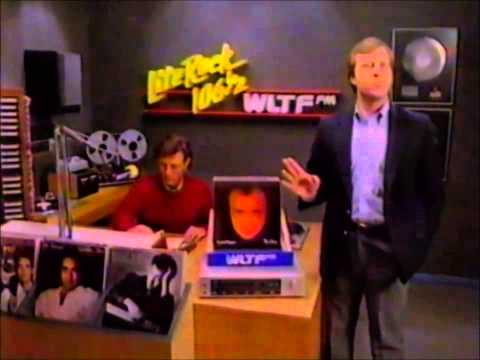 Lite Rock 106 and a half WLTF commercial 1980s