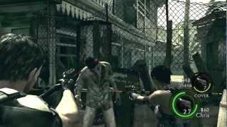 Resident Evil 5 Walkthrough Part 2 ( Veteran Chapter 1-2 )