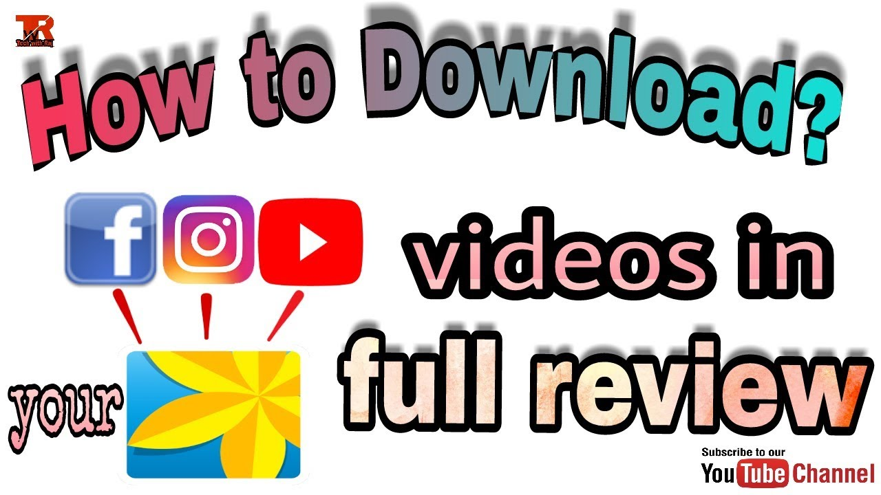 How to download youtube video in your gallery full review in hindi how to download youtube video in your gallery full review in hindi ccuart Images