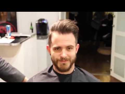 Mens Pompadour Hairstyle How To Cut And Style A Pompadour 2019