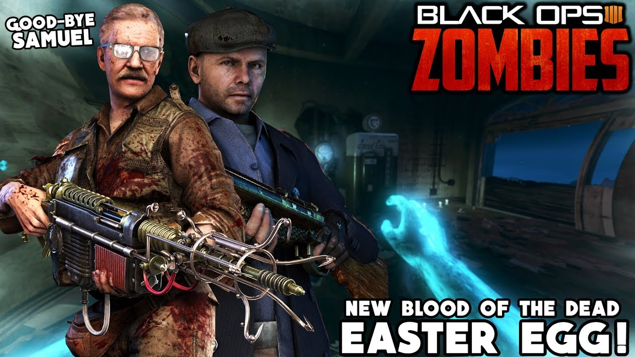 Blood Of The Dead New Stuhlinger Easter Egg Full Tranzit Crew