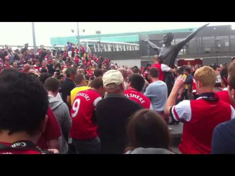 Arsenal Fans After North London Derby (Arsenal 1-0 Spurs)