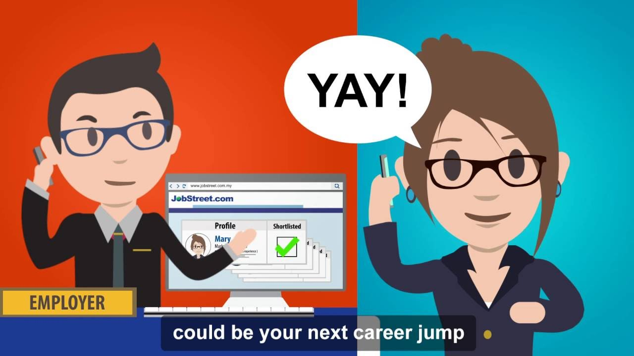 Update Your Jobstreet Com Profile Youtube