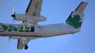 Toronto Pearson Airport Landings from April 13, 2012