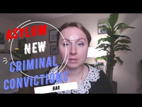 New Asylum Criminal Convictions Bar | USCIS News | US Asylum Seekers| NYC Immigration Lawyer