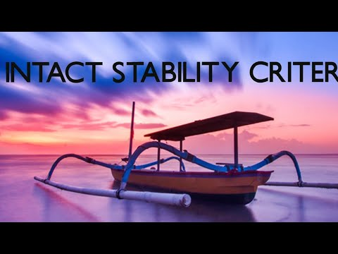 INTACT STABILITY CRITERIA