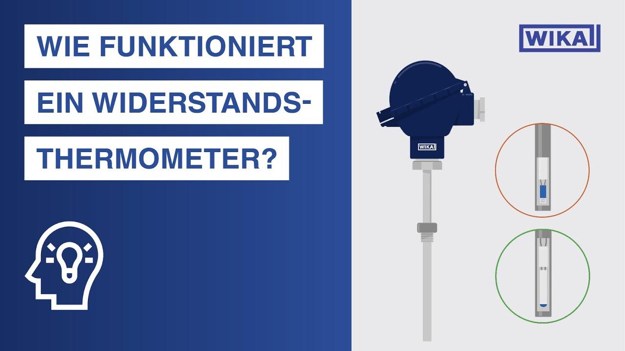 Wie funktioniert ein Widerstandsthermometer? | Widerstandsthermometer nach IEC 60751
