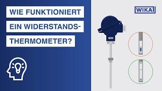 Wie funktioniert ein Widerstandsthermometer? | Widerstandsthermometer nach IEC...