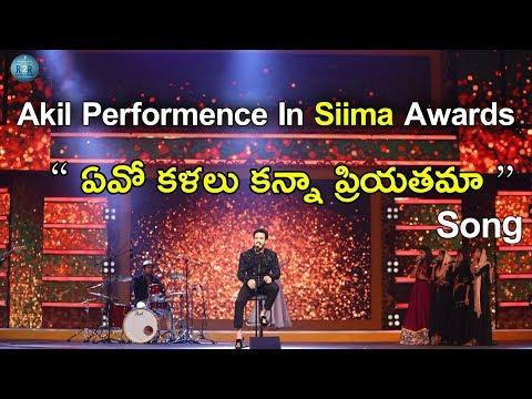 Akhil Akkineni Shocking Performance At Siima 2017   Akhil Akkineni   Siima Awards   Ready2release