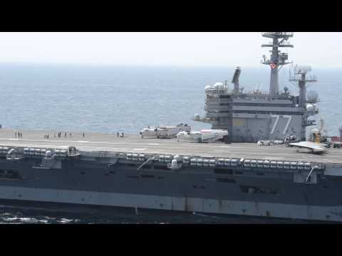 No pilot, no problem: Navy drone lands on carrier