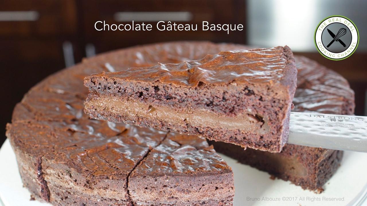 Chocolate Gâteau Basque Recipe – Bruno Albouze – THE REAL