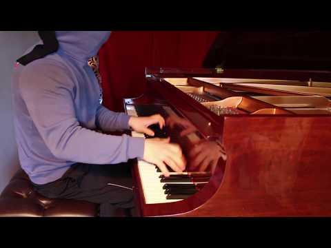 Playing Piano BLINDFOLDED - Liszt La Campanella - John Yang