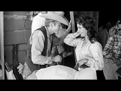 James Dean & Elizabeth Taylor- Kiss