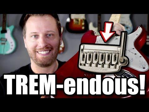 Farewell to Fender's 6-screw Trem! - Floyd Rose Install!